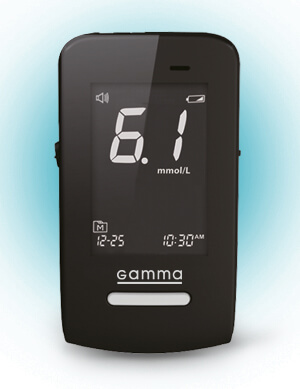 Glucometer TM GAMMA DIAMOND