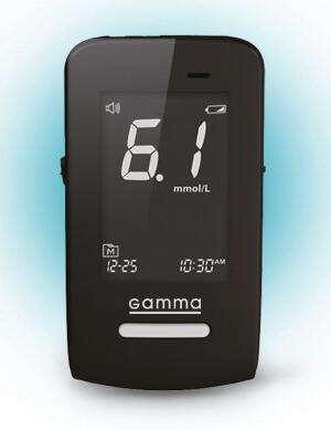 Glucometer TM GAMMA DIAMOND