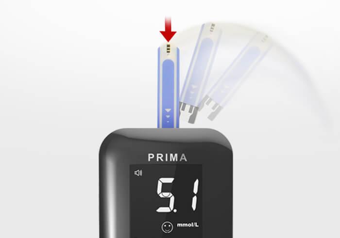 Глюкометр ТМ GAMMA DIAMOND PRIMA